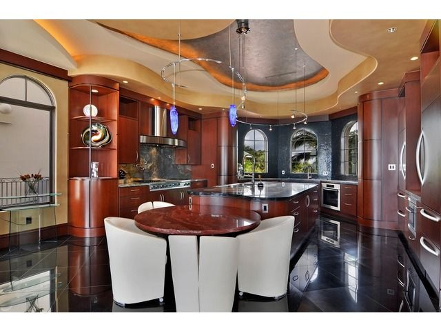 Ultra Contemporary Kitchen In Barefoot Beach Home In Bonita Springs Fl Home