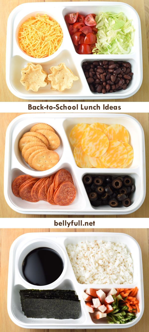 back to school lunch ideas | kids school lunches | pinterest
