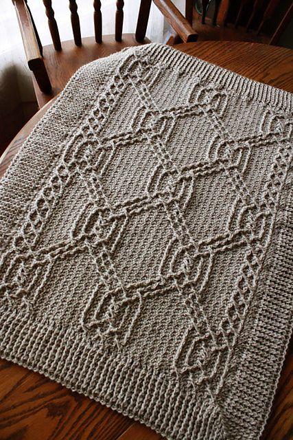 Turtle Tracks Blanket pattern by Lisa Naskrent | Pinterest ...