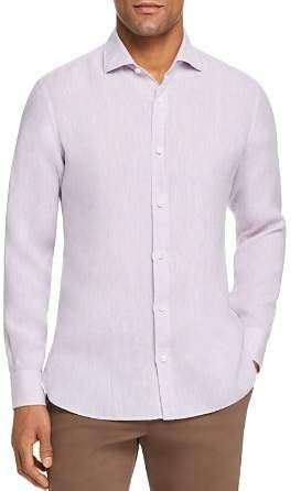 ed031d0a2 Ermenegildo Zegna Washed Linen Regular Fit Sport Shirt in 2019 ...