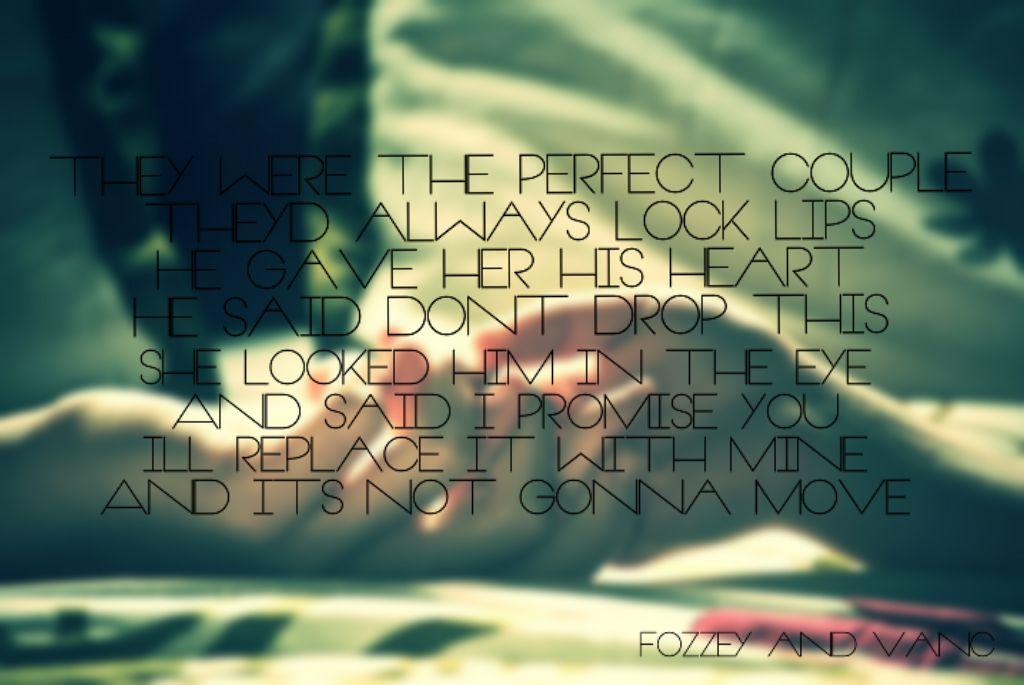 Perfect couple lyrics