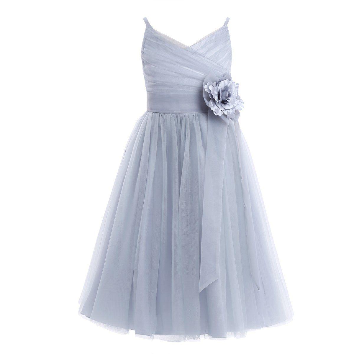 e78e91973387 iiniim Kids Girls Sleeveless Flower Wedding Bridesmaid Party Pageant ...