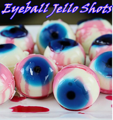 Eyeball Jello Shots - Onviralin #jelloshots