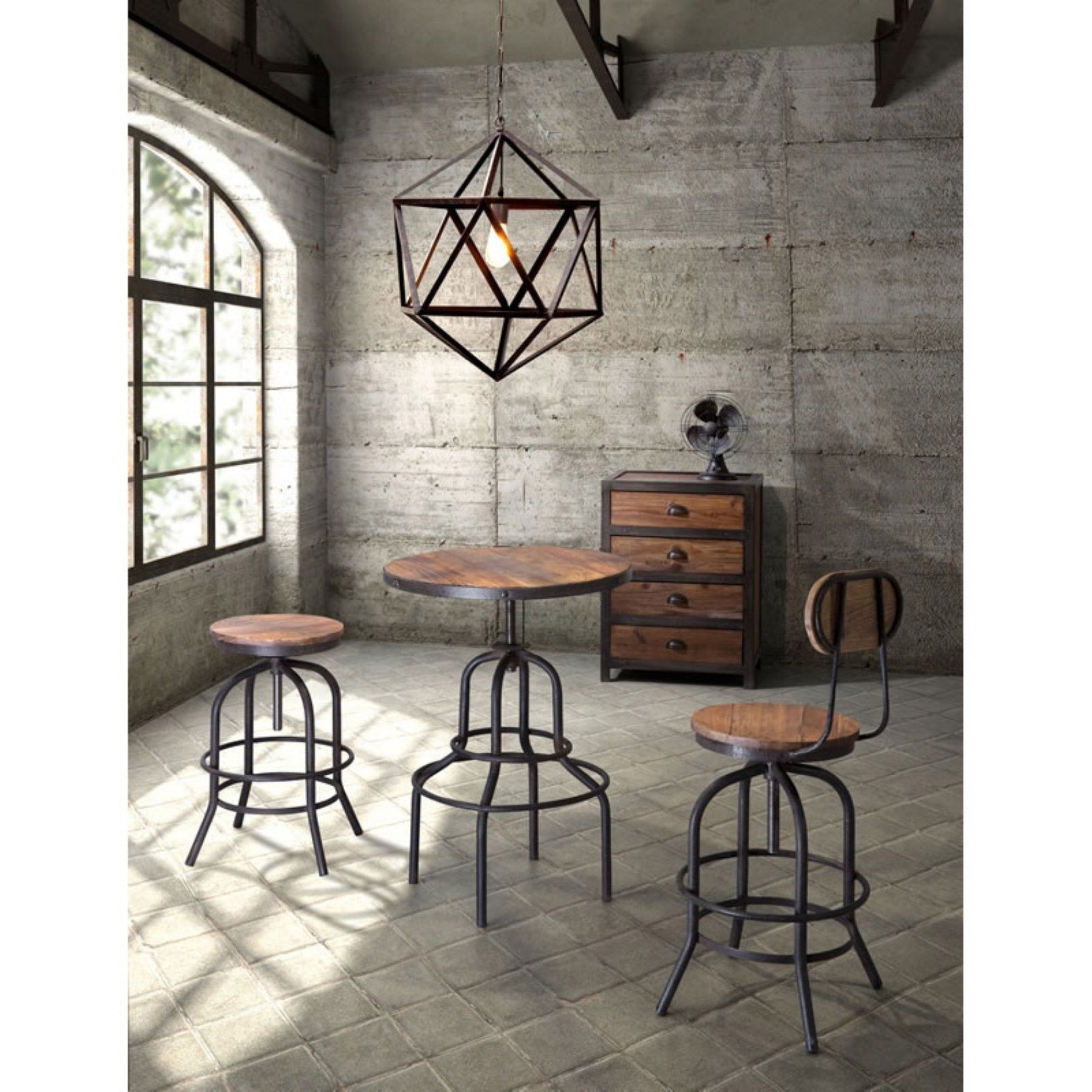 Zuo modern twin peaks pc pub table set zmc products