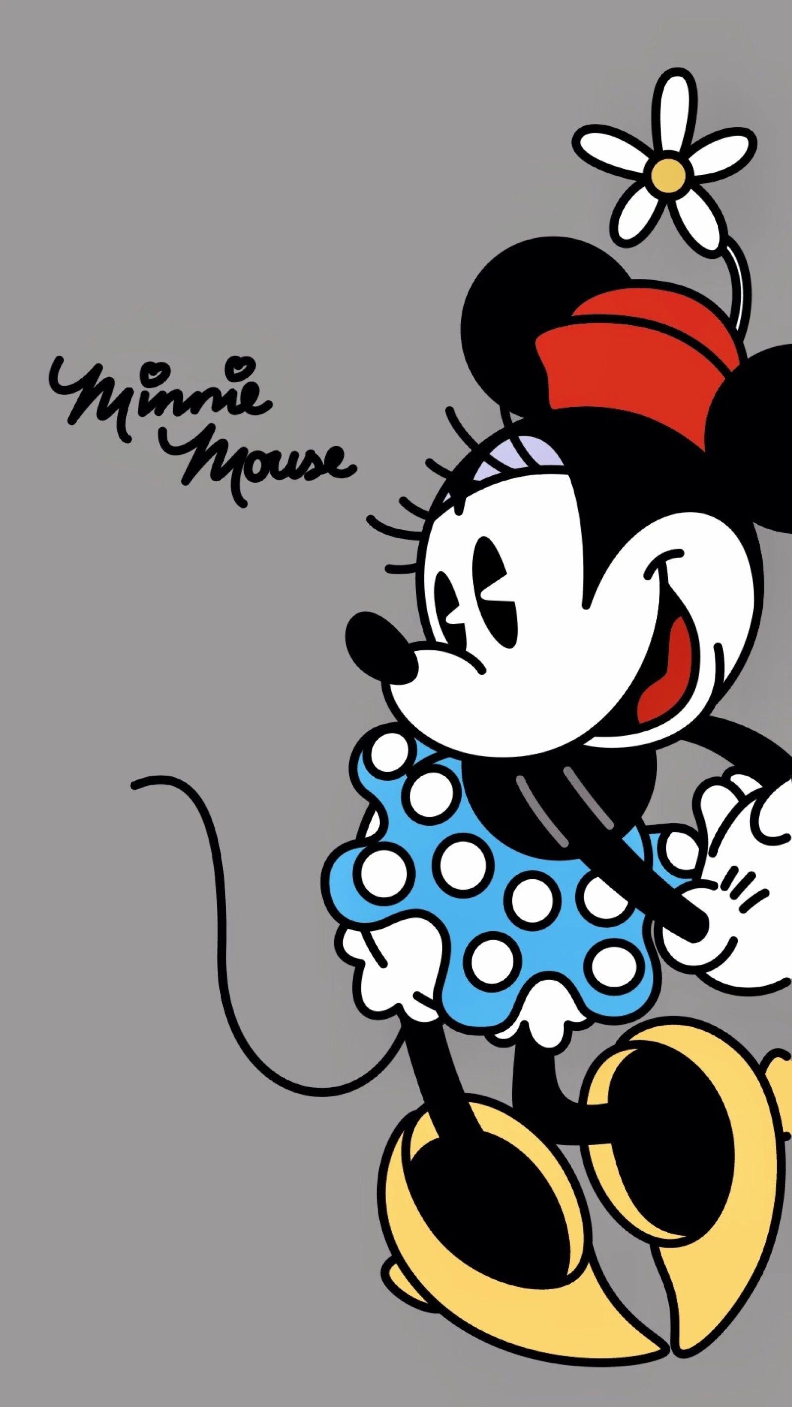 Minnie Mouse Papeis De Parede Engracados Papeis De