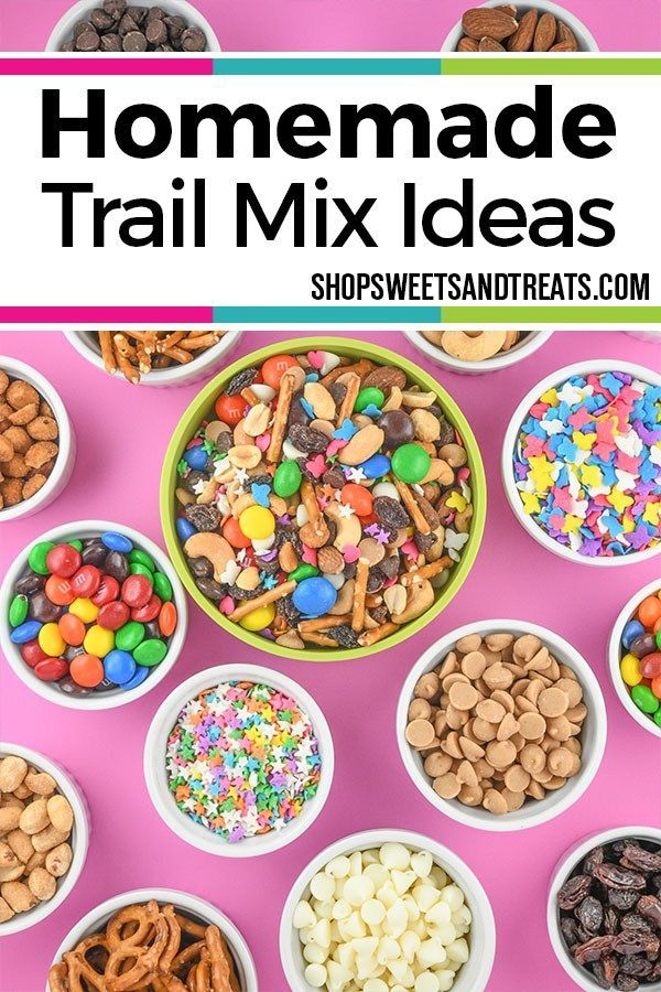 Homemade Trail Mix Recipe & Ideas [with Sprinkles!