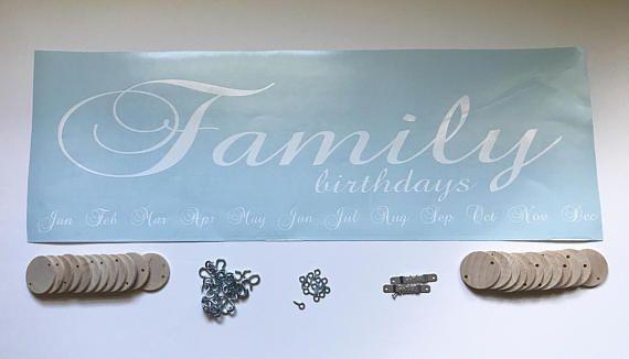Diy family birthdays board kit do it yourself family birthdays diy family birthdays board kit do it yourself family birthdays board kit celebrations board solutioingenieria Images