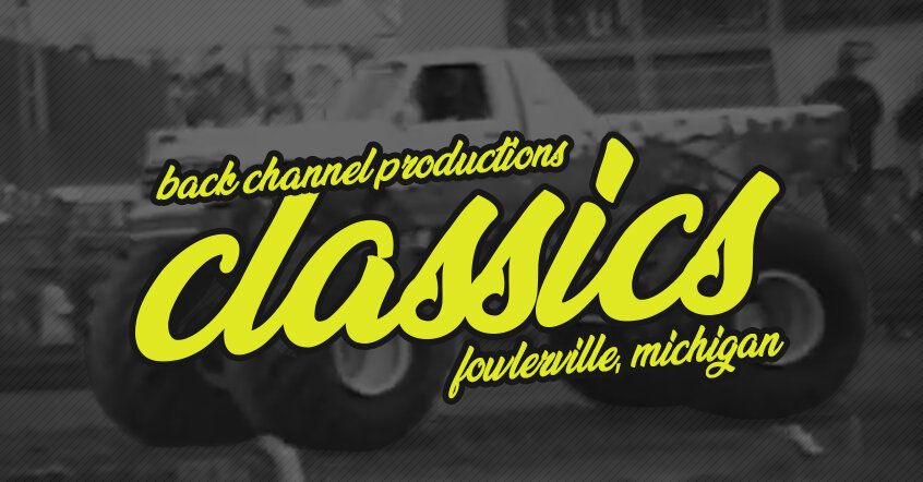 Bcp classics monster truck nationals in fowlerville 1992