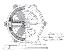 first electric generator. Modren Electric A Dynamo Is An Electrical Generator That Produces Direct Current With The  Use Of A Commutator With First Electric Generator