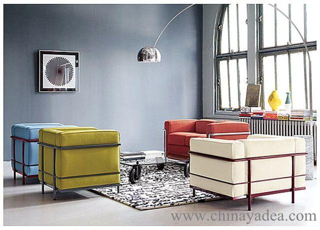 Le Corbusier LC2 Armchair and Sofa | interiør | Pinterest