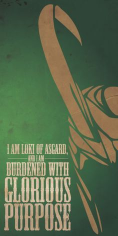 Loki Minimalist Poster