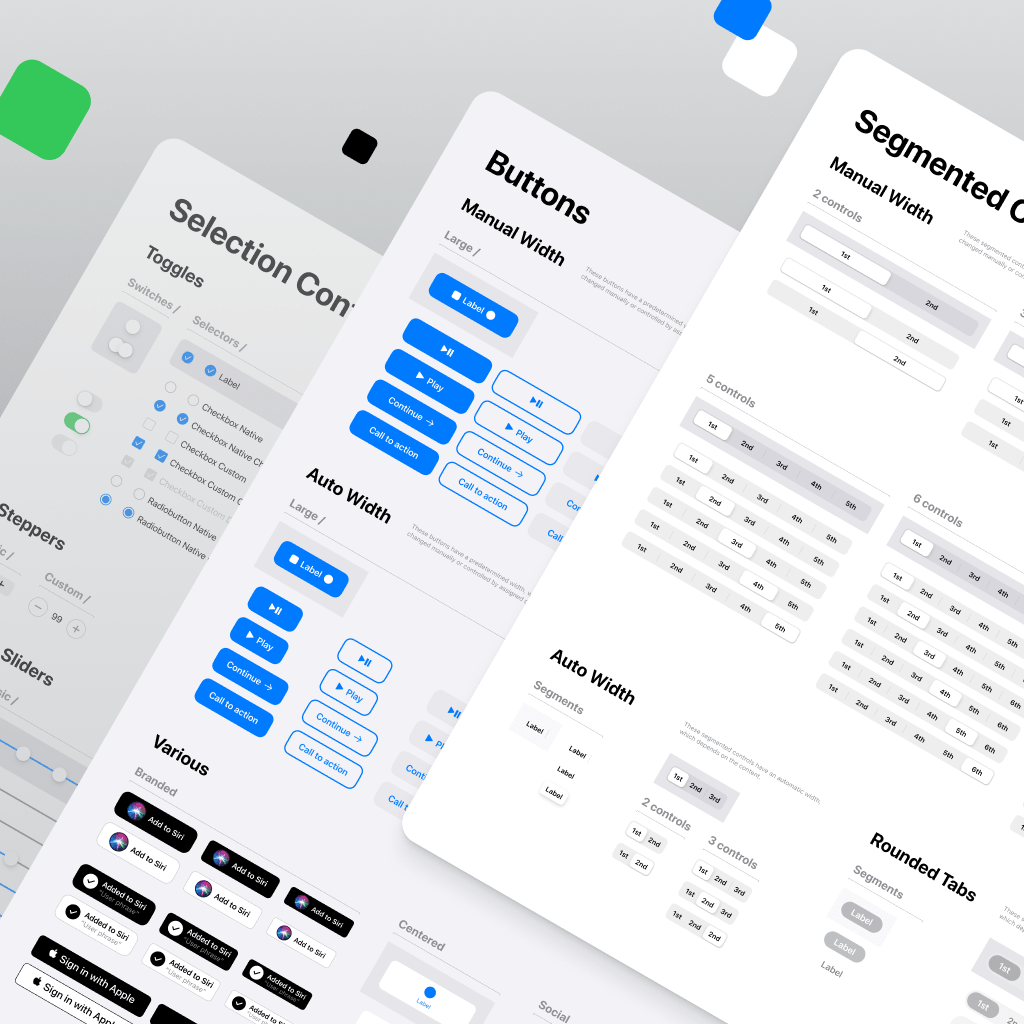 Pin on Most iOS design system