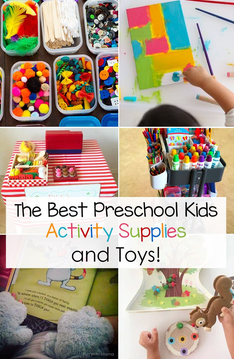 The Best Preschool Kids Activity Supplies and Toys ...