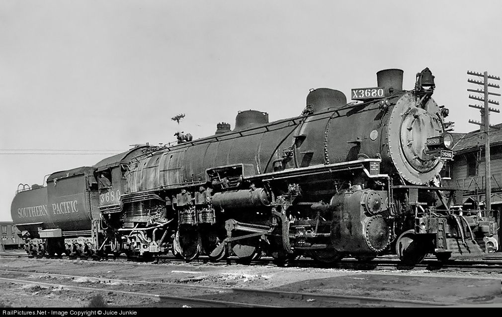 65dbad379849 RailPictures.Net Photo  3680 Southern Pacific Railroad Steam 2-10-2 ...