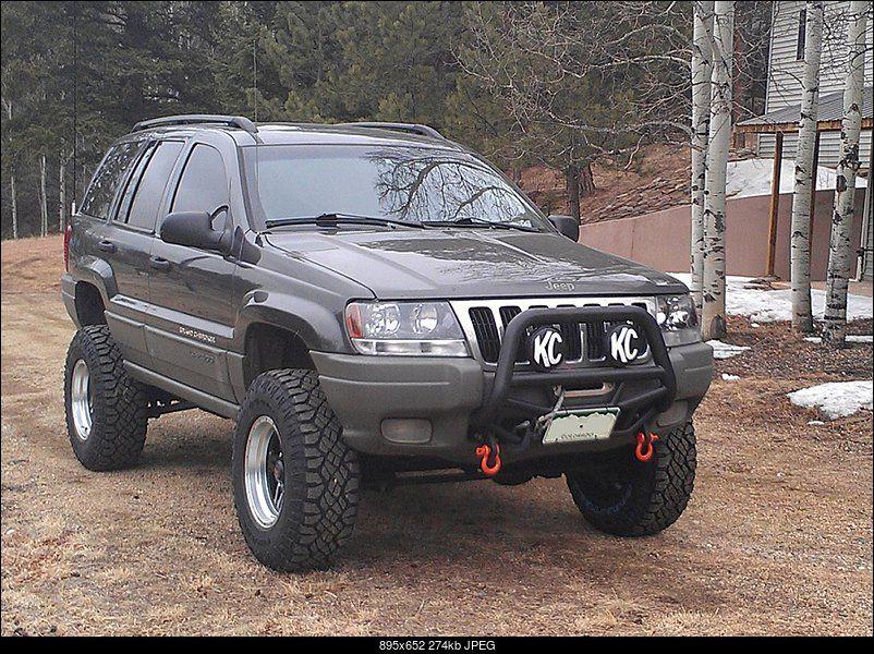 Bull Bar Tow Hooks Winch Perfect Jeep Wj Jeep Wk Jeep