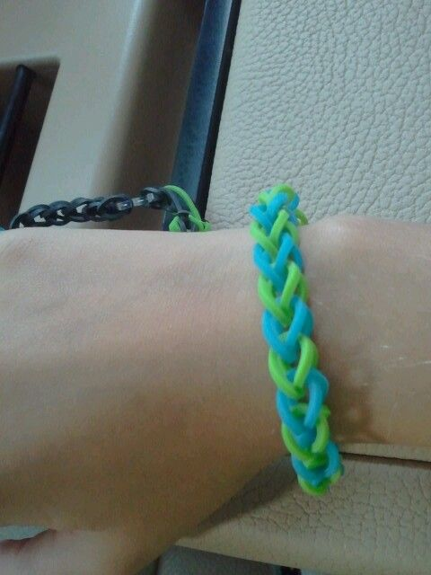 Rubberband braclet from flordia!
