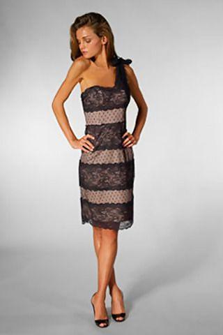 betsey-johnson-one-shoulder-lace-sheath-dress-in-black-mobile-wallpaper.jpg (320×480)