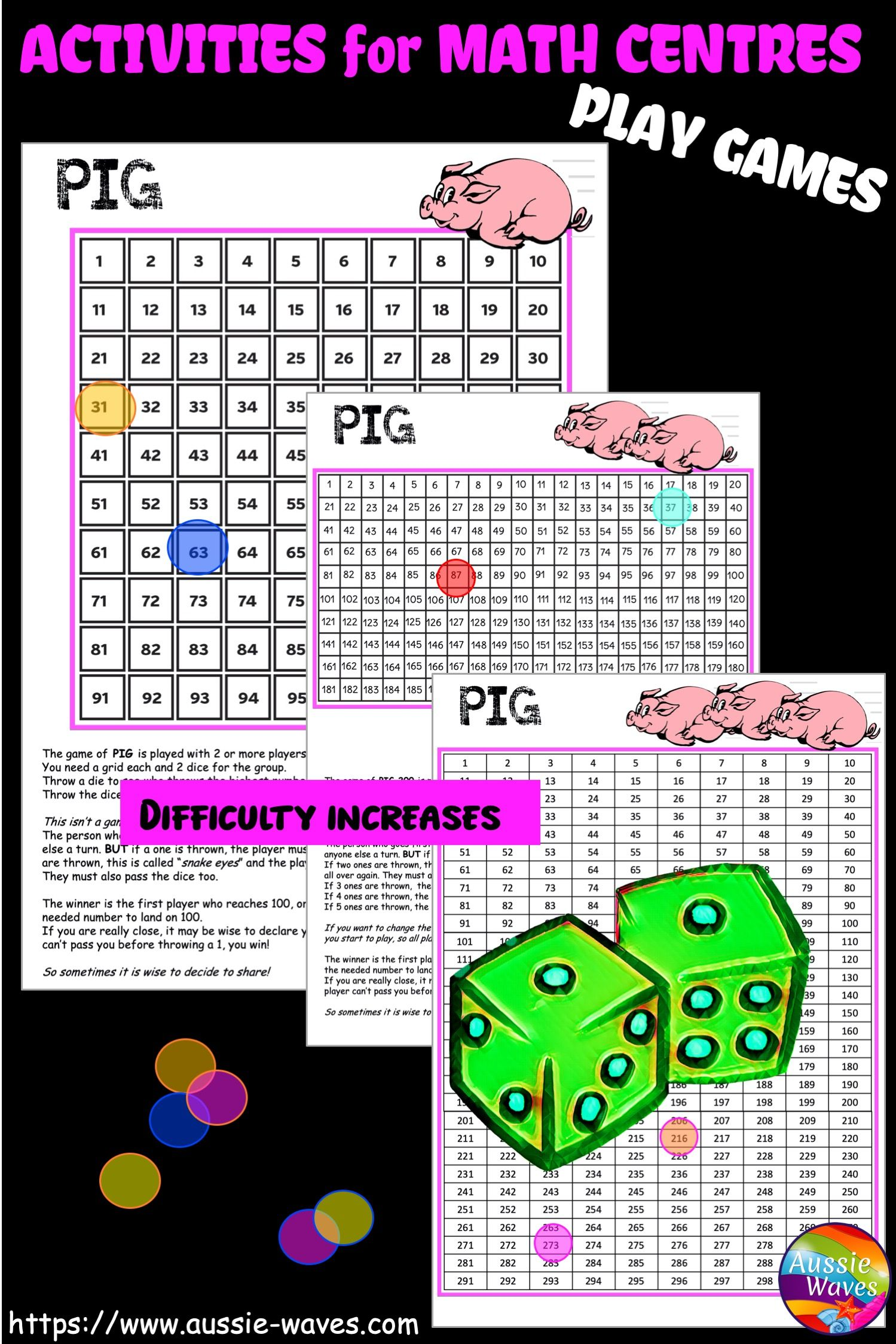Maths Games For Centres In
