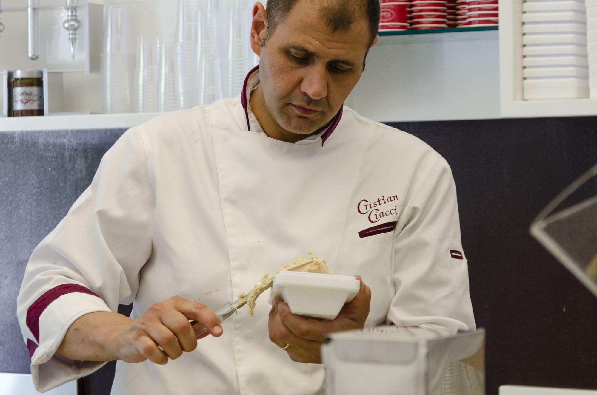 Cristian Ciacci, gelatiere per gioco e per passione!