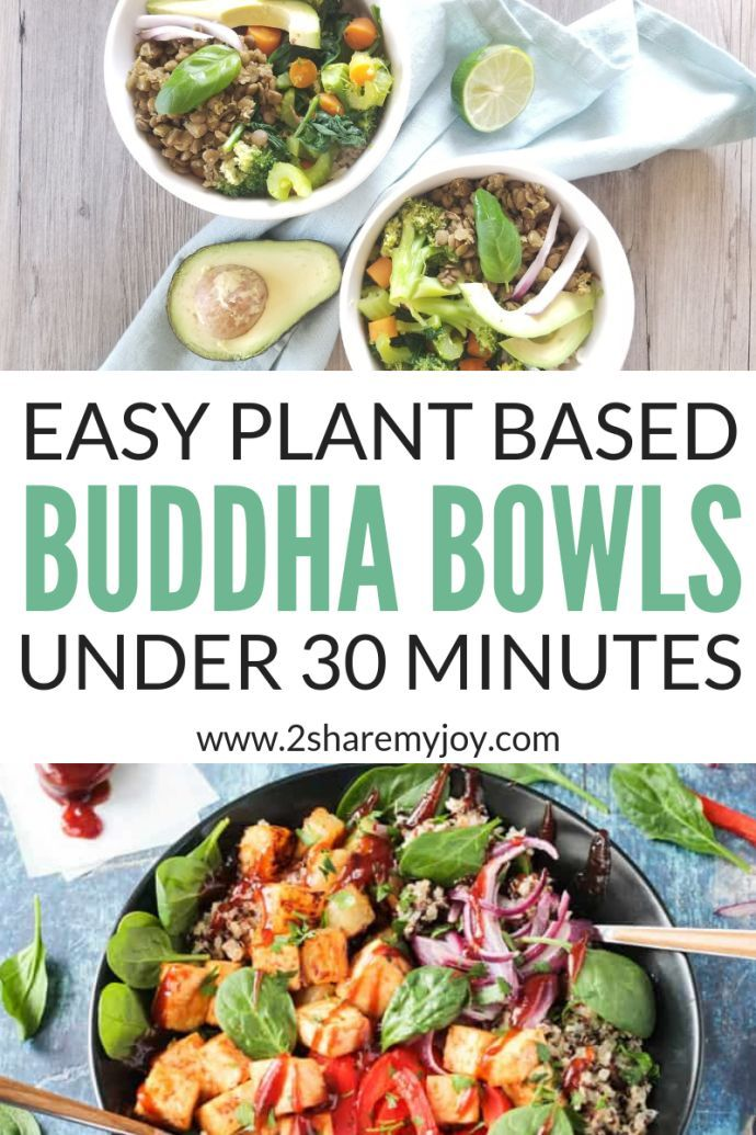 15+ Easy Vegan Power Bowl Recipes under 30 Minutes images