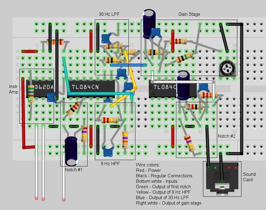 eeg amplifier circuit diagram - Google Search | DIY tech | Pinterest ...