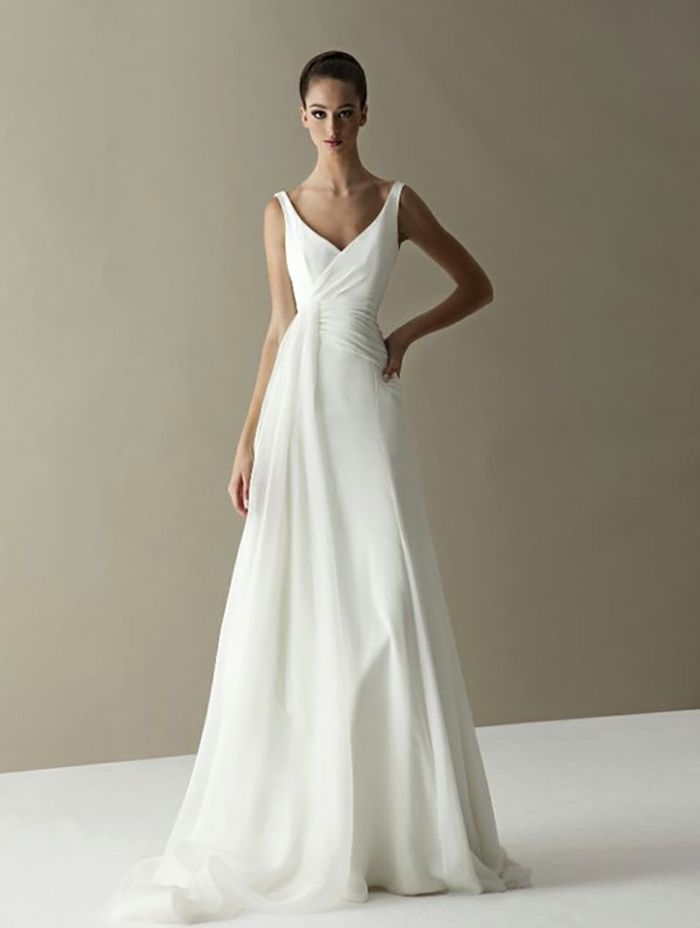 ▷ 1001 + ideas de vestidos de novia sencillos para tu boda | bodas