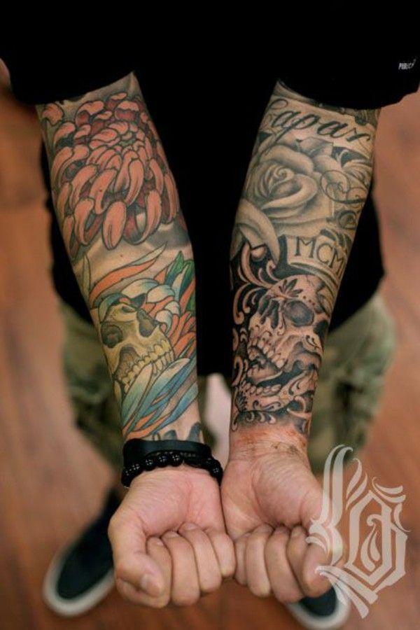 Coloured Tattoo Man Forearm Templates Tattoos For Guys Tattoos Cool Forearm Tattoos