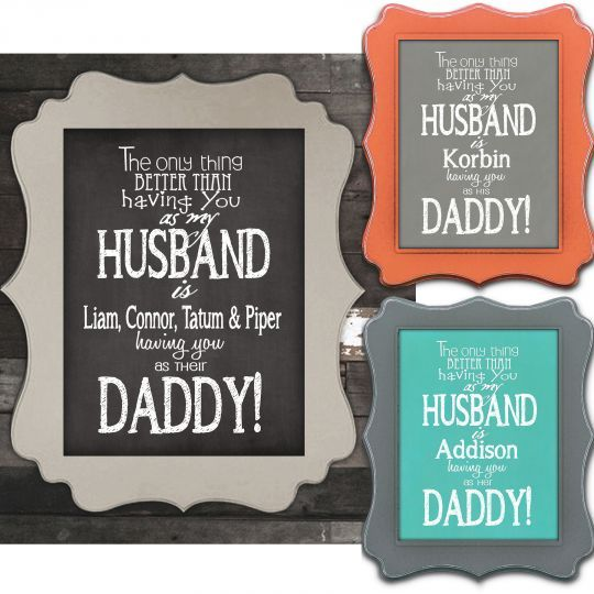 Personalized Husband & Daddy Prints $6.75 - http://www.pinchingyourpennies.com/personalized-husband-daddy-prints-6-75/ #Fathersday