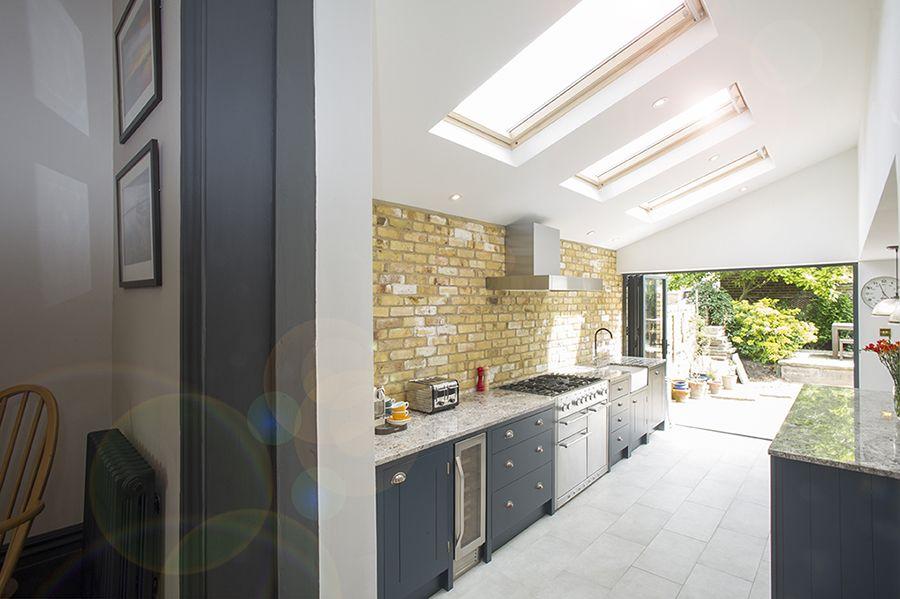 Peckham Rye Se15 Side Return Extension On A Victorian Terraced