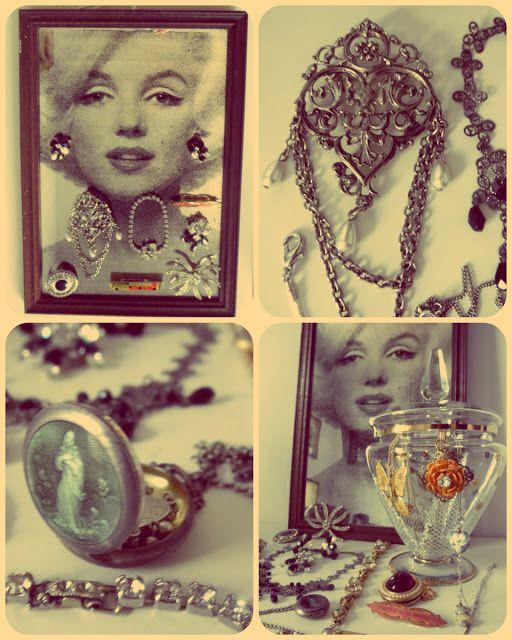 Hoy Compartimos... El blog: Los caballeros las prefieren rubias = bisuteria antigua y vintage
