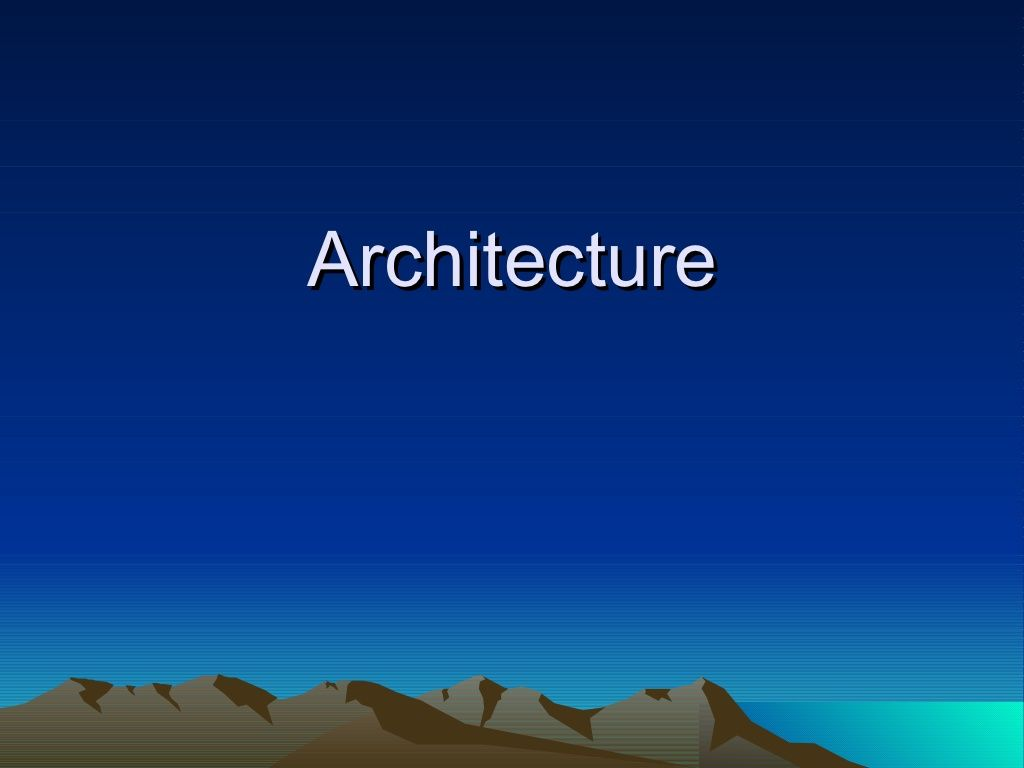 architecture-post-and-lintelpyramids by Amanda Waterhouse via Slideshare