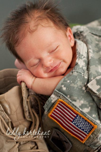 Baby photography idea military baby sleeping uniform pictures that melt my heart