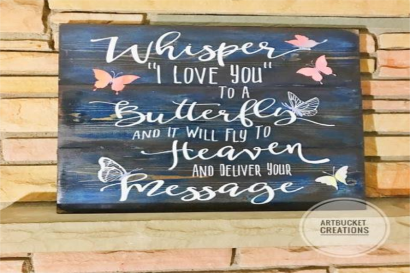 Download Free Whisper I Love You To A Butterfly-Cutfile Crafter ...