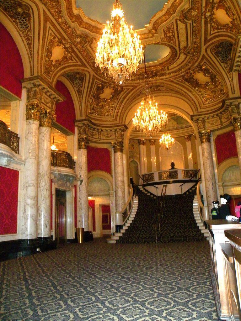 Boston Opera House, stair