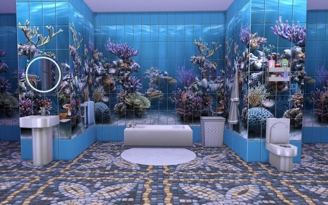 mermaids bathroom | Mermaid bathroom