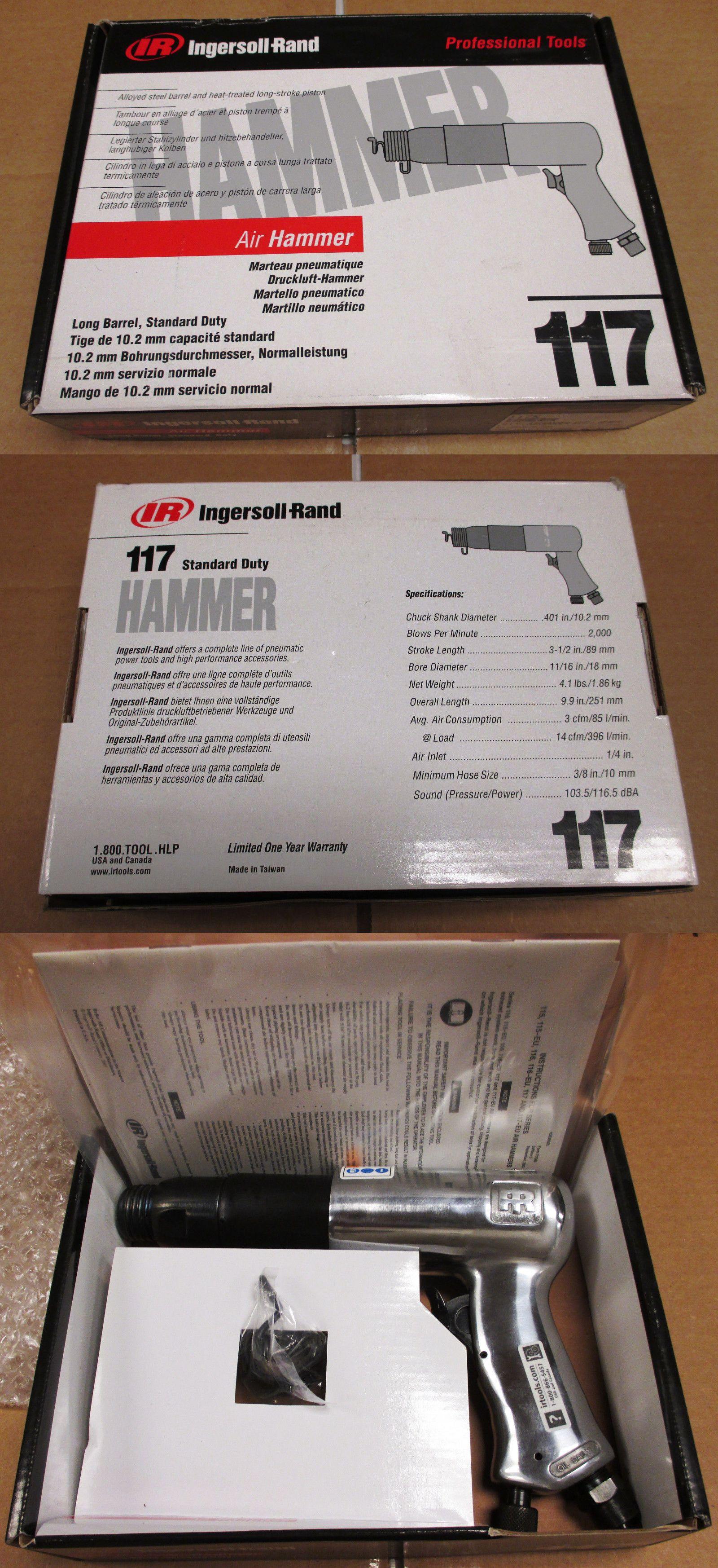 Free Shipping New Ingersoll-Rand 117 Standard Duty Air Hammer