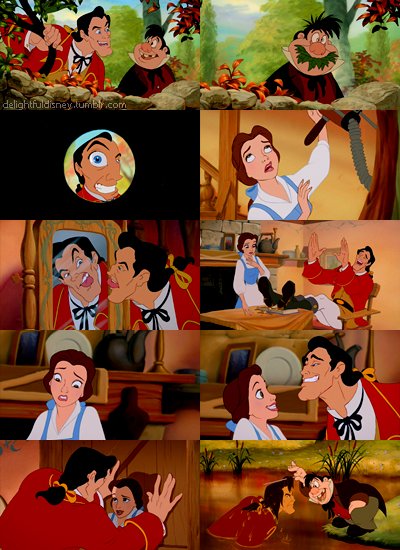 Gaston and Belle