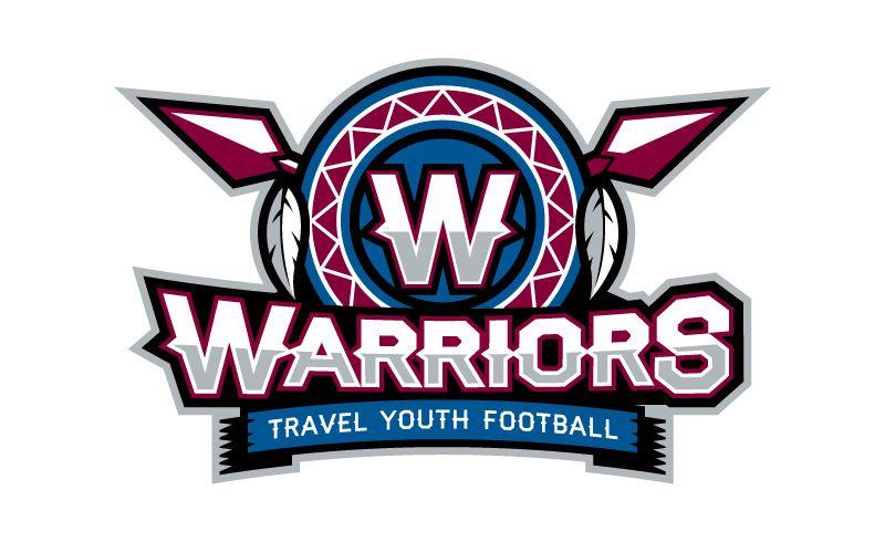 Warriors Youth Football Logo Football Logo Sports Logo Sports Team Logos