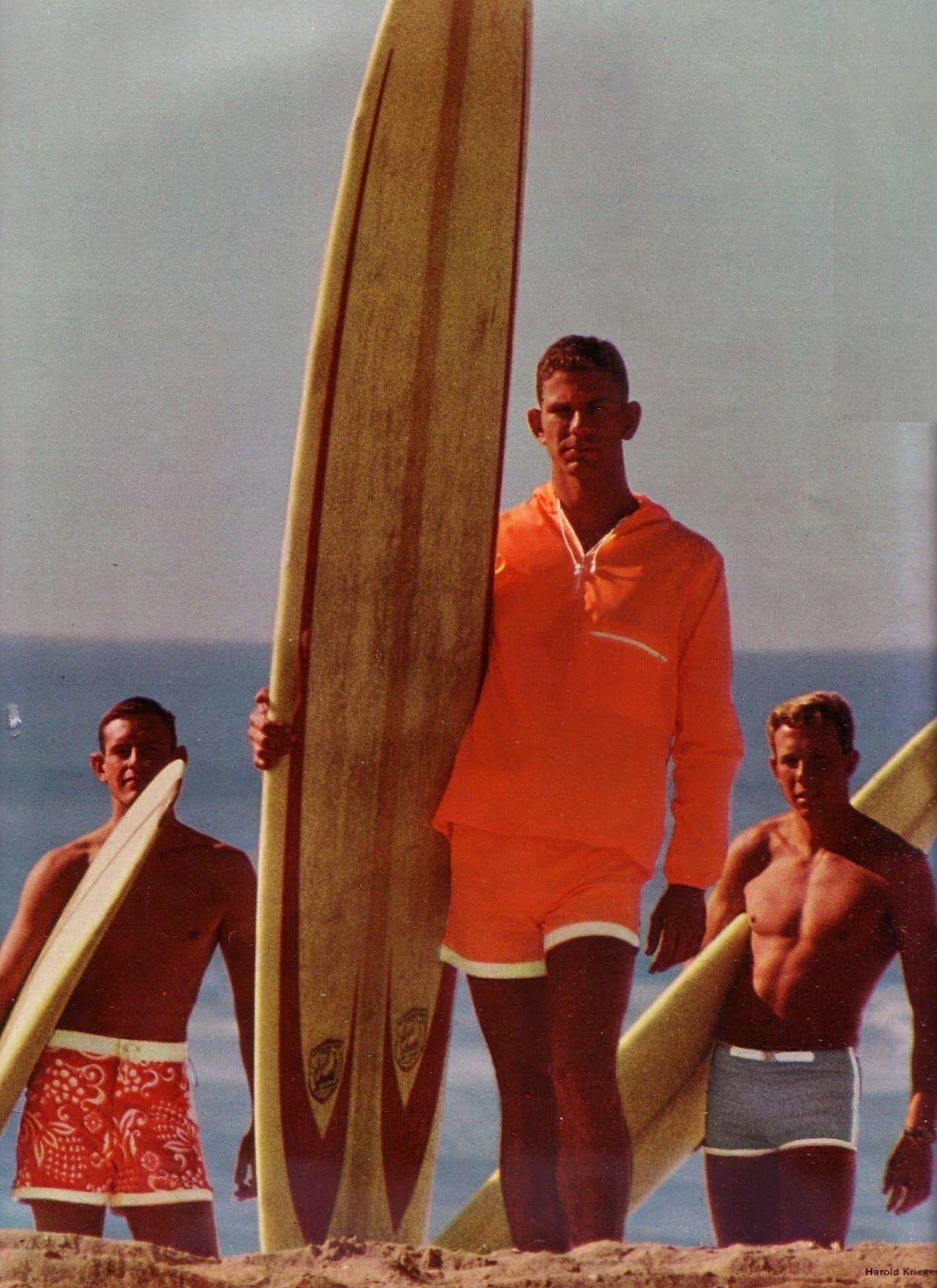 b9bf511eb8e5f Glamoursplash  1060s Surfer boys in Catalina