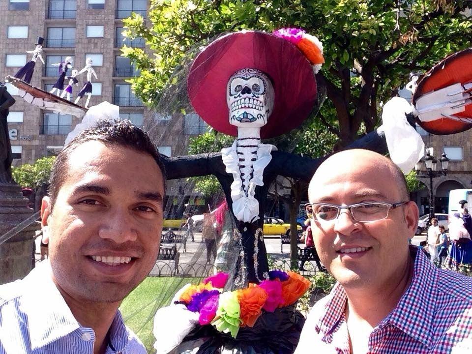 Guadalajara vestida de catrinas!!!