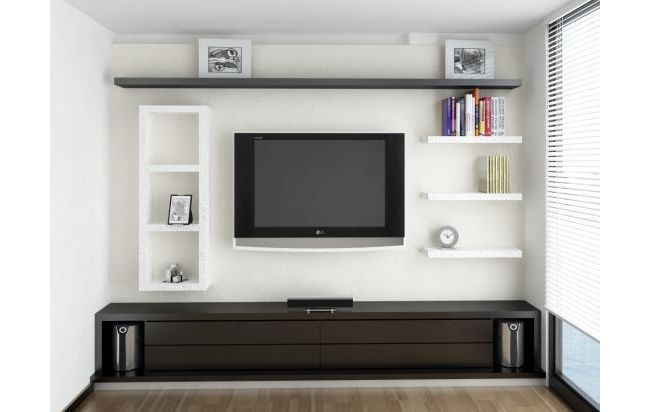 Modelo de muebles para tv y equipo de sonido buscar con for Muebles para televisor y equipo de sonido