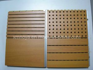 Hot Item Fireproof Acoustic Sound Absorption Perforated Wooden Interior Wall Decorative Panel Decorative Panels Interior Walls Acoustic Panels