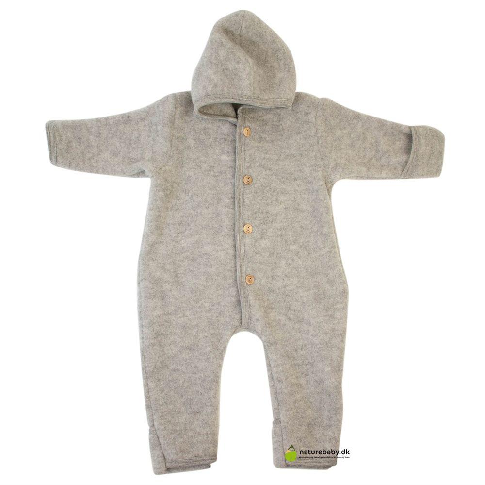 1bb8384ea08 Engel heldragt i uldfleece - Grey | Baby bedding, clothing and ...