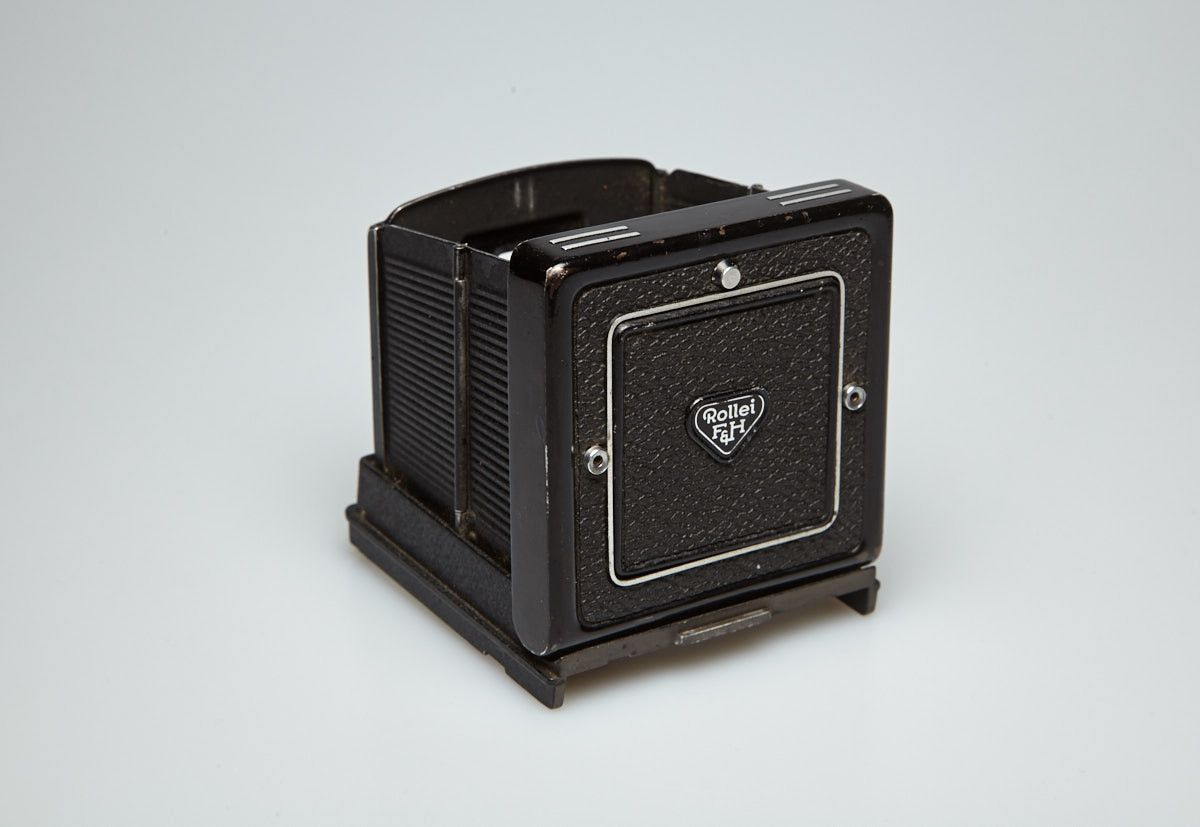 Used Waist Level Finder (WLF) for Rolleiflex TLR's with removable hood.