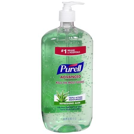 Purell Advanced Hand Sanitizer Pump Aloe In 2020 Hand Sanitizer