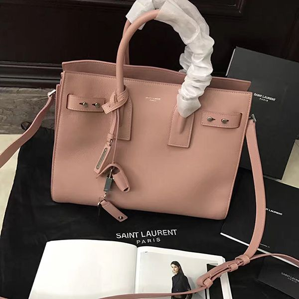 1ef97c856df3 ysl souple supple sac de jour 32 cm bag nude pink leather 2017  ysl souple