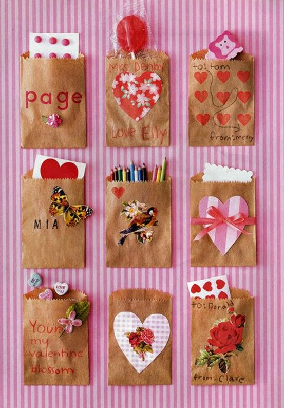 50 Valentine ideas for the kids | Brown paper packages, Brown ...