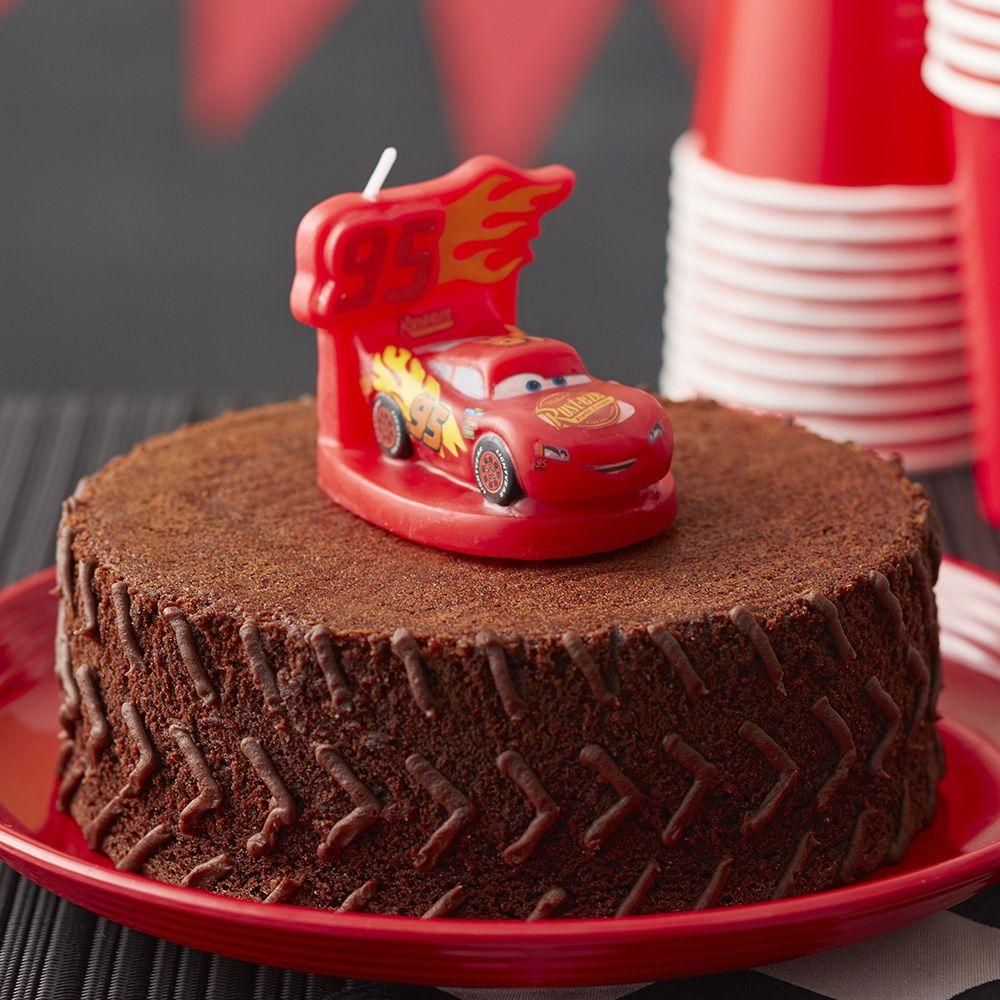Disney Pixar's Cars 3 Brownie Cake