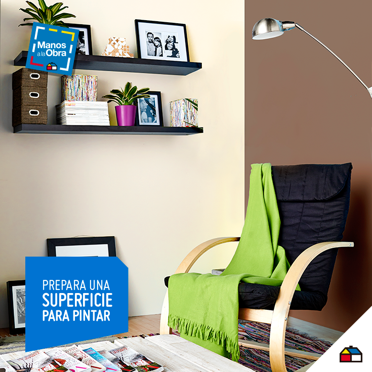 Una superficie perfecta para pintar sodimac homecenter for Decoracion hogar sodimac