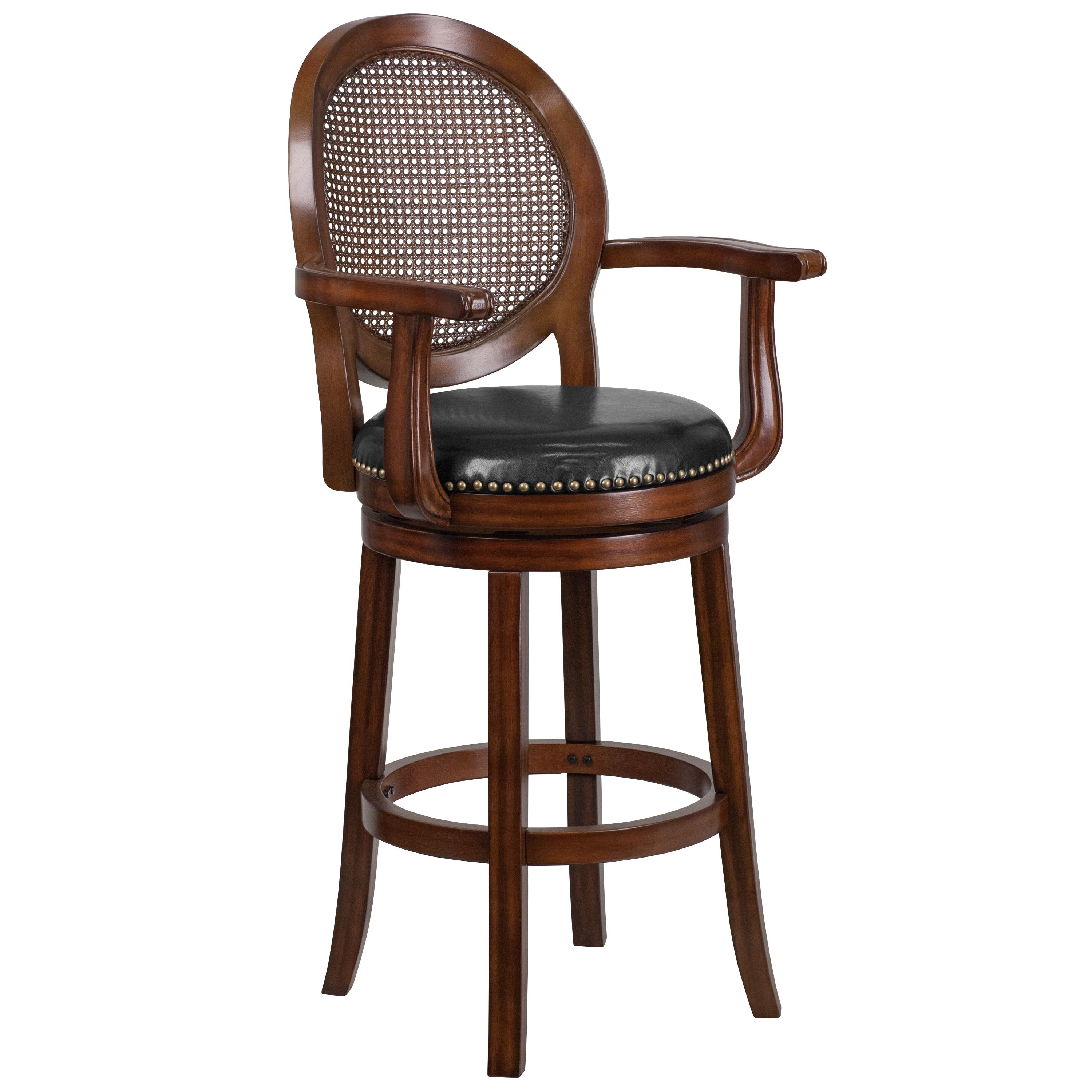 Prime Flash Furniture 30 Inch High Wood Barstool With Arms And Ncnpc Chair Design For Home Ncnpcorg